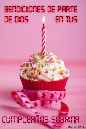 Imágenes de cumpleaños cristianas para una sobrina
