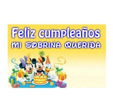 felicitaciones para una sobrina en su cumpleaños