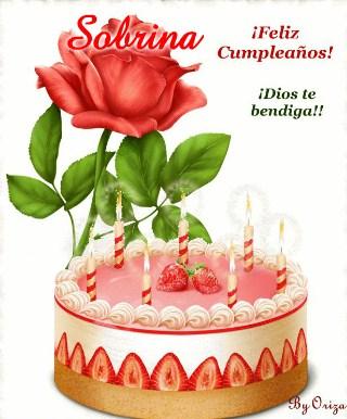 postales de cumpleaños para una sobrina especial