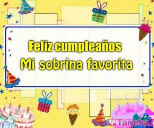tarjetas virtuales de cumpleaños para una sobrina gratis