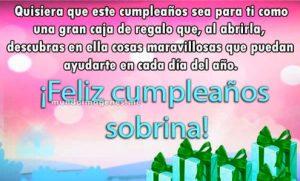 felicitaciones de cumpleaños para una sobrina que está lejos