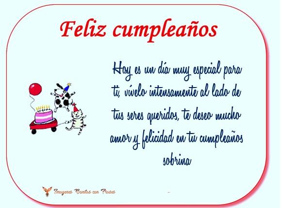 tarjetas virtuales de cumpleaños gratis para una sobrina