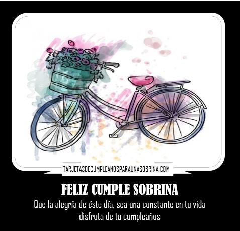 tarjetas de cumpleaños para una sobrina especial para compartir en facebook