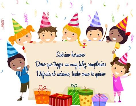 tarjetas para sobrinos de cumpleaños en facebook