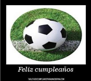 Imágenes de pelotas de fútbol para cumpleaños