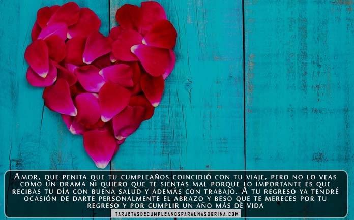 Tarjetas De Cumpleaños Para El Novio Con Palabras Románticas