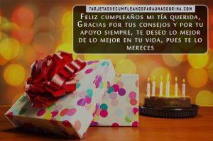 Tarjetas de cumpleaños para una tía muy especial para Facebook
