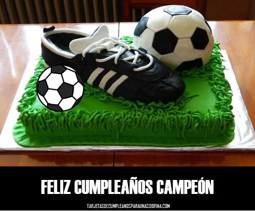 Tortas de cumpleaños de fútbol