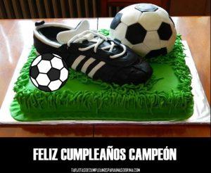 imágenes de Tortas de cumpleaños de fútbol
