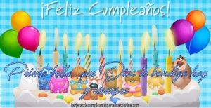 postales de cumpleaños para una prima gratis