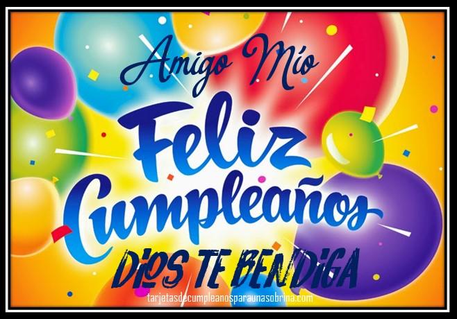 tarjetas de cumpleaños para un amigo gratis para Facebook