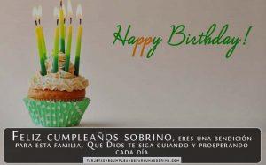 tarjetas de cumpleaños para un sobrino