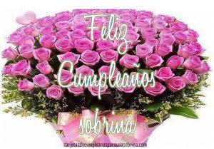 rosas de cumpleaños para una sobrina