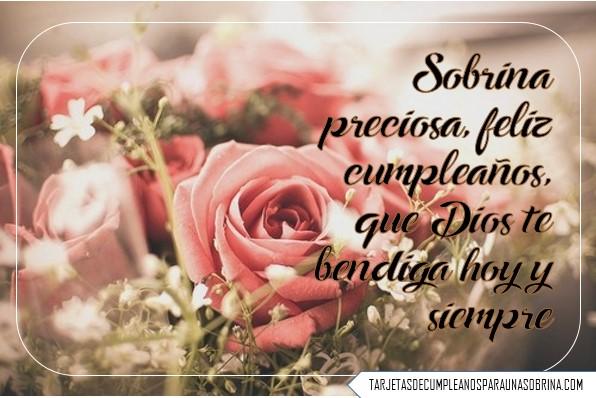 Imágenes De Rosas De Cumpleaños Para Una Sobrina Querida