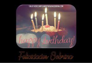 tarjetas de cumpleaños para una sobrina para enviar por Facebook