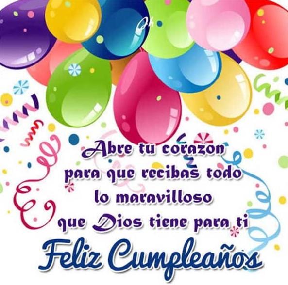 Feliz cumpleaños a mi sobrina querida