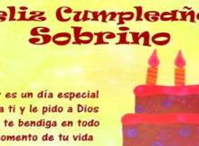 Frases cristianas de cumpleaños para un sobrino