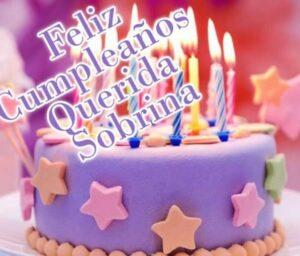 Feliz cumpleaños sobrina querida
