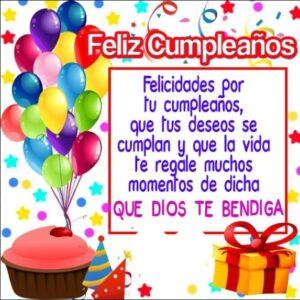 Felicitaciones en tu cumpleaños sobrina