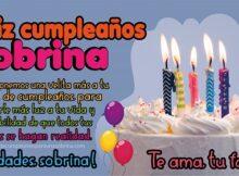 felicidades sobrina en tu cumpleaños
