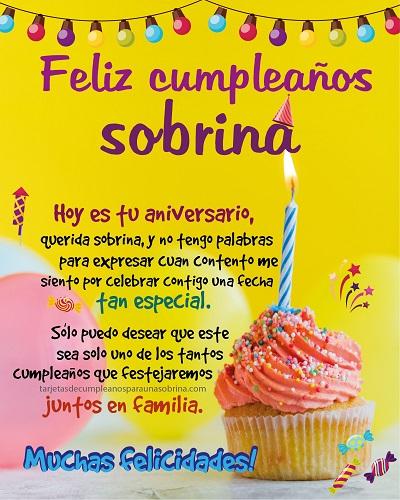 pastel y globos con mensaje de cumpleaños