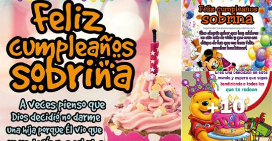 tarjetas con frases de felizc umpleaños sobrina