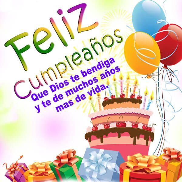 feliz cumpleaños pastel y regalos para sobrina