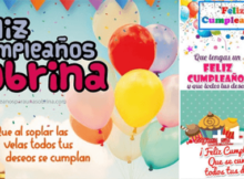 tarjetas de cumpleaños sobrina