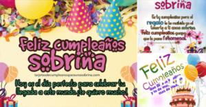 tarjetas de feliz cumpleaños sobrina