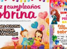 feliz cumpleaños sobrina princesa