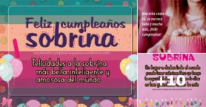 feliz cumpleaños con mensajes para sobrinas